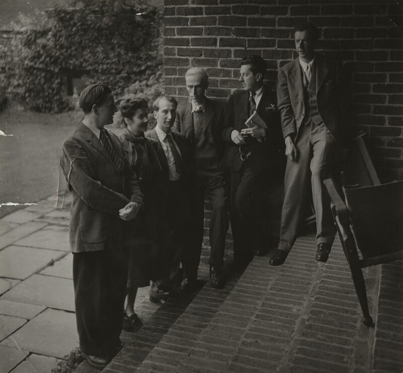 Members of the English Opera Group in Glyndebourne for the original production of 'Albert Herring', possibly by Edward Mandinian, 1947 - NPG x15216 - © V&A Images