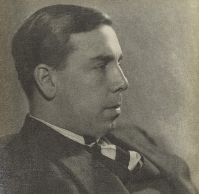 J.B. Priestley, by Howard Coster, 1926 - NPG Ax2243 - © National Portrait Gallery, London