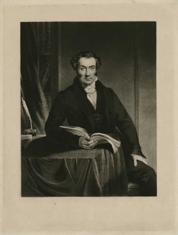 possibly John Birt, by Unknown artist, mid 19th century - NPG D31794 - © National Portrait Gallery, London