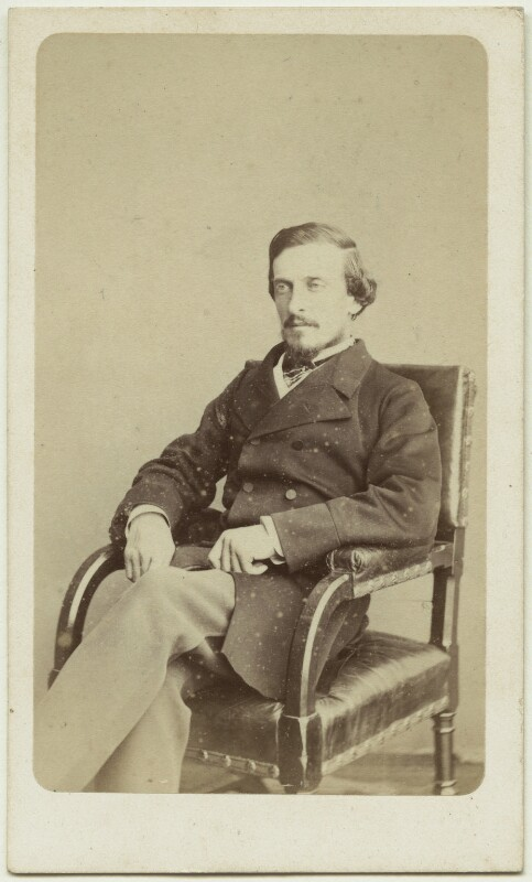 Frederick Temple Hamilton-Temple-Blackwood, 1st Marquess of Dufferin and Ava, by W. & D. Downey, 1865 - NPG x75841 - © National Portrait Gallery, London