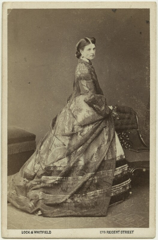 Hariot Georgina (née Rowan-Hamilton), Marchioness of Dufferin and Ava, by Lock & Whitfield, 1860s - NPG x75842 - © National Portrait Gallery, London