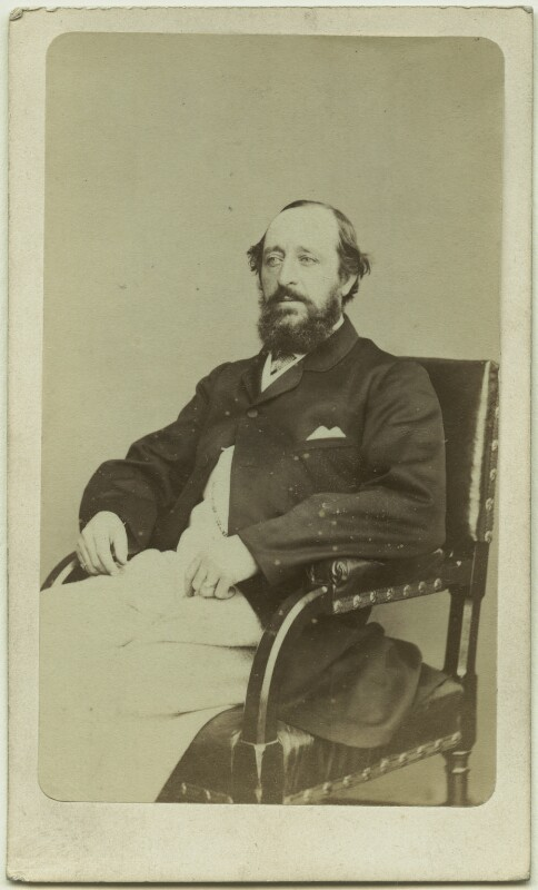 Frederick Doulton, by W. & D. Downey, 1860s - NPG Ax8651 - © National Portrait Gallery, London