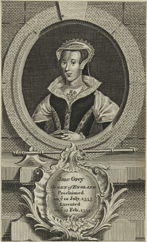 Lady Jane Grey, after Unknown artist, possibly 18th century - NPG D24998 - © National Portrait Gallery, London