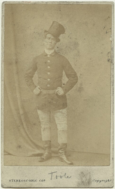 John Lawrence Toole, by London Stereoscopic & Photographic Company, 1860s - NPG x26919 - © National Portrait Gallery, London