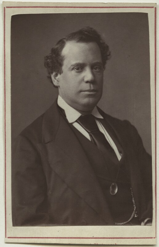 John Lawrence Toole, by Fradelle & Marshall, circa 1874 - NPG Ax7611 - © National Portrait Gallery, London