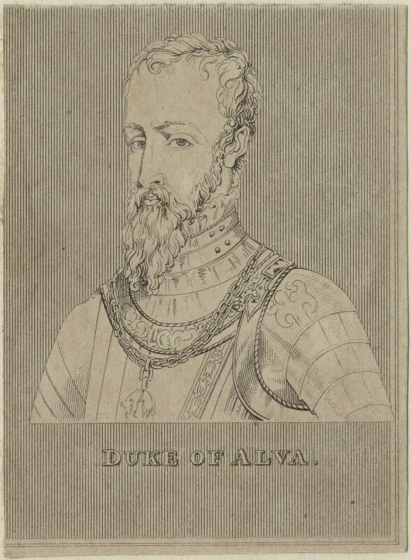 Fernando Alvarez de Toledo, 3rd Duke of Alba, after Unknown artist, possibly 18th century - NPG D25001 - © National Portrait Gallery, London