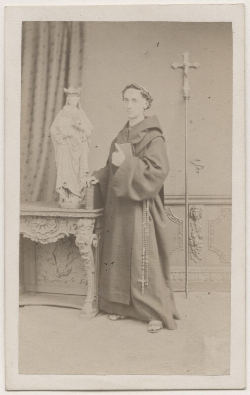 Father Ignatius (Joseph Leycester Lyne), by Mason & Co (Robert Hindry Mason), 1864 - NPG Ax7504 - © National Portrait Gallery, London