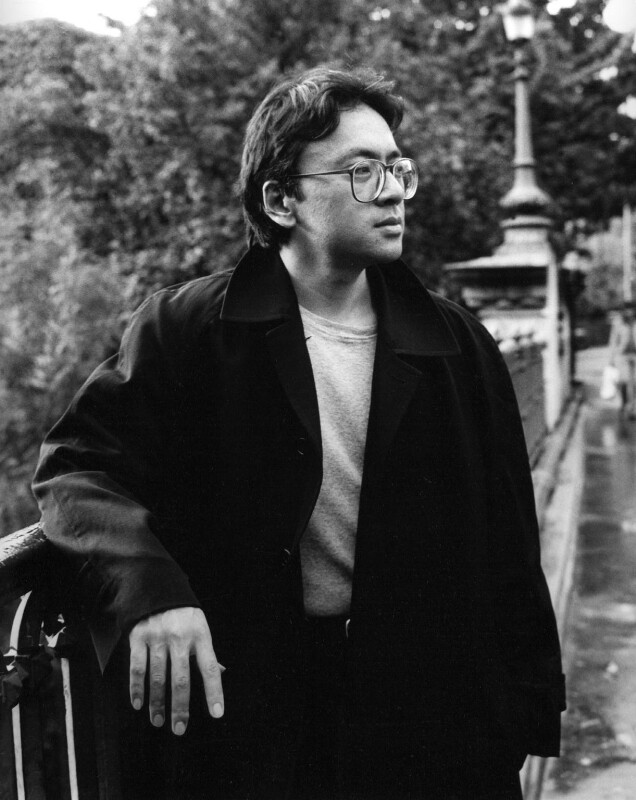 Kazuo Ishiguro, by Mark Gerson, September 1995 - NPG x88214 - © Mark Gerson / National Portrait Gallery, London