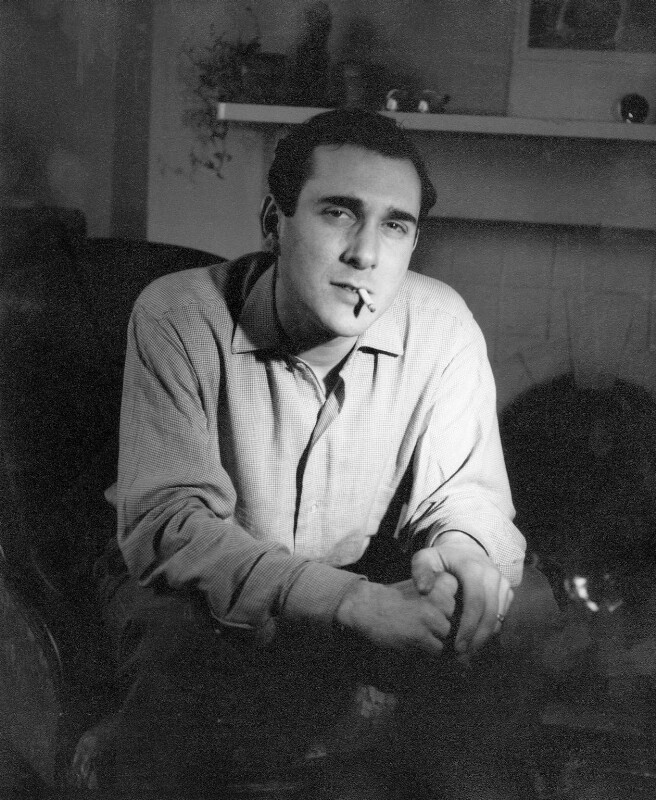 Harold Pinter, by Mark Gerson, June 1960 - NPG x88224 - © Mark Gerson / National Portrait Gallery, London