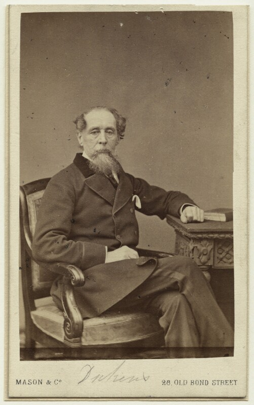 Charles Dickens, by Mason & Co (Robert Hindry Mason), 1863 - NPG x11833 - © National Portrait Gallery, London