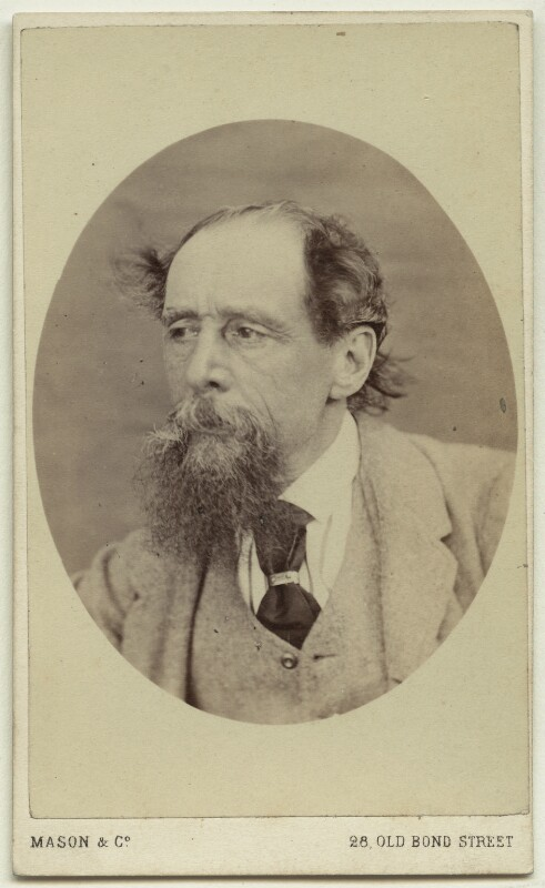 Charles Dickens, by Mason & Co (Robert Hindry Mason), circa 1863 - NPG x11837 - © National Portrait Gallery, London