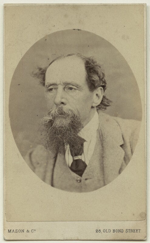 Charles Dickens, by Mason & Co (Robert Hindry Mason), circa 1863 - NPG x11838 - © National Portrait Gallery, London