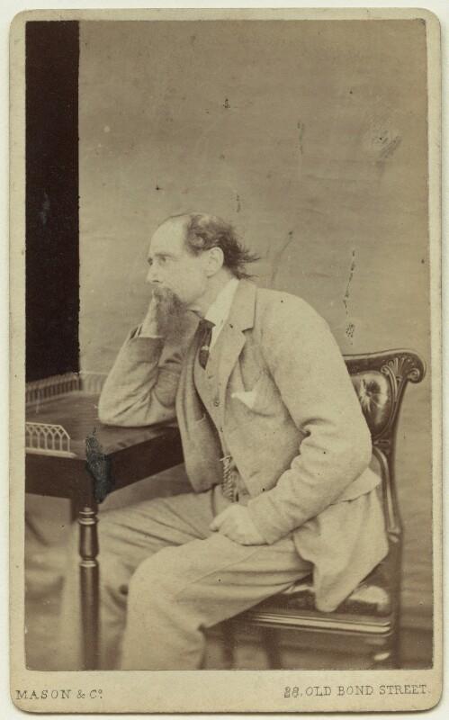 Charles Dickens, by Mason & Co (Robert Hindry Mason), circa 1863 - NPG x11839 - © National Portrait Gallery, London
