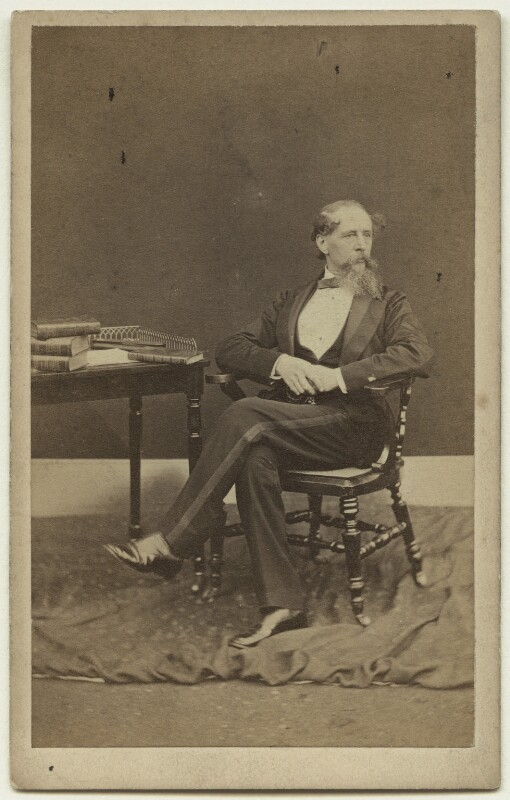 Charles Dickens, by Mason & Co (Robert Hindry Mason), 1863 - NPG x11834 - © National Portrait Gallery, London