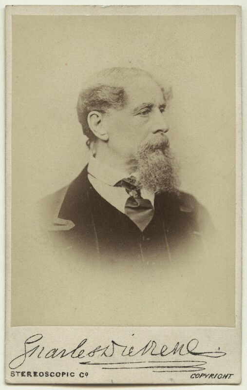 Charles Dickens, by London Stereoscopic & Photographic Company, 1867 - NPG x11863 - © National Portrait Gallery, London