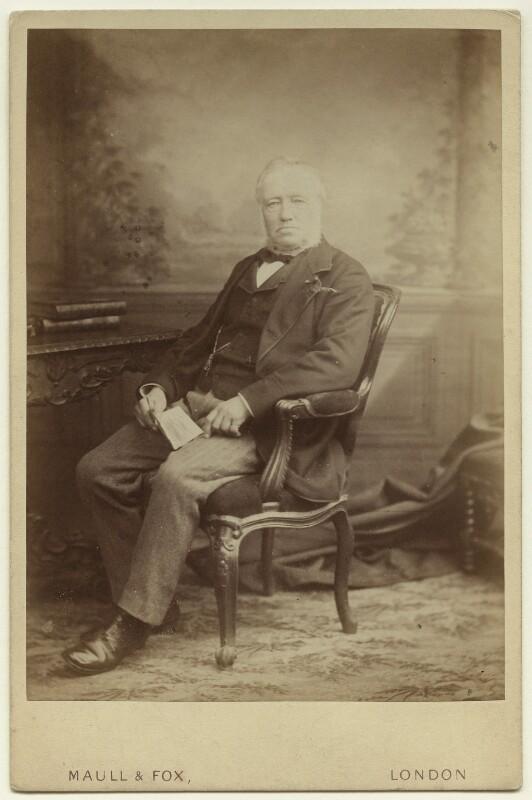 Michael Pakenham Edgeworth, by Maull & Fox, circa 1879 - NPG x26087 - © National Portrait Gallery, London