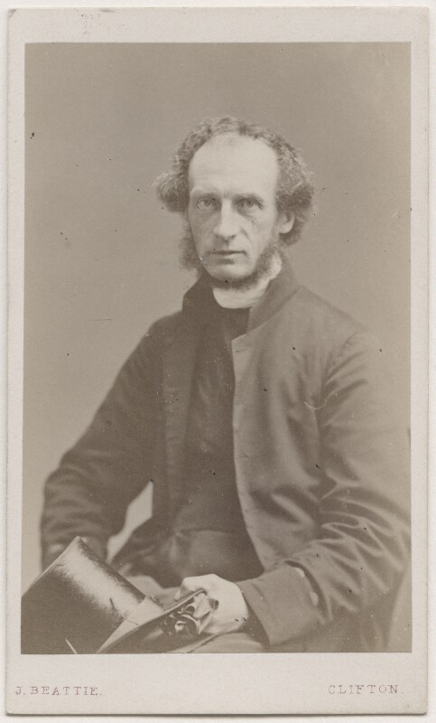 Charles John Ellicott, by John Beattie, 1863 - NPG Ax7461 - © National Portrait Gallery, London