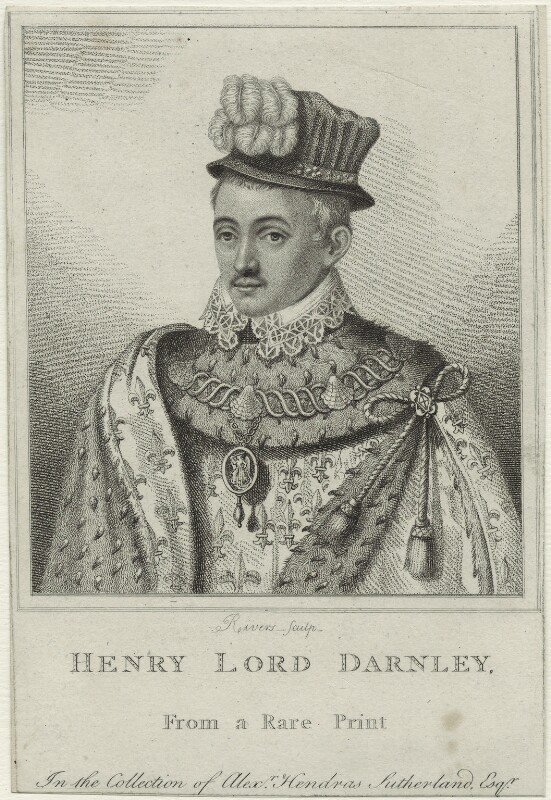 Henry Stuart, Lord Darnley, by Rivers, published 1807 - NPG D25095 - © National Portrait Gallery, London