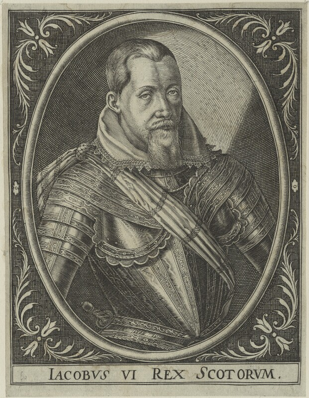 King James I of England and VI of Scotland, after Unknown artist, possibly early 17th century - NPG D25099 - © National Portrait Gallery, London