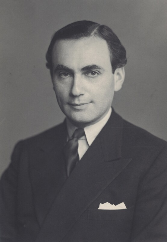 (Israel) Maurice Edelman, by Walter Stoneman, 15 November 1949 - NPG x166843 - © National Portrait Gallery, London