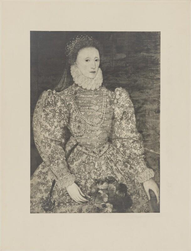 Queen Elizabeth I, after Unknown artist, before 1914 (circa 1575) - NPG D31846 - © National Portrait Gallery, London