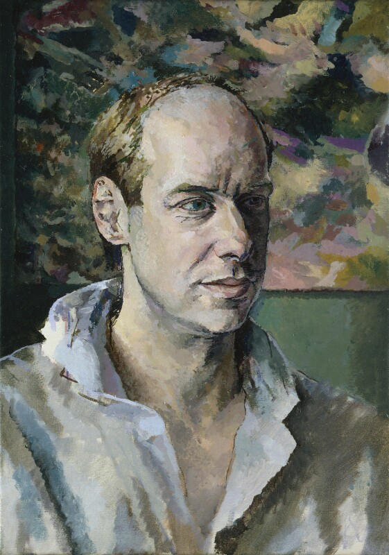 Brian Eno, by Tom Phillips, 1984-1985 - NPG 6824 - © DACS / Tom Phillips