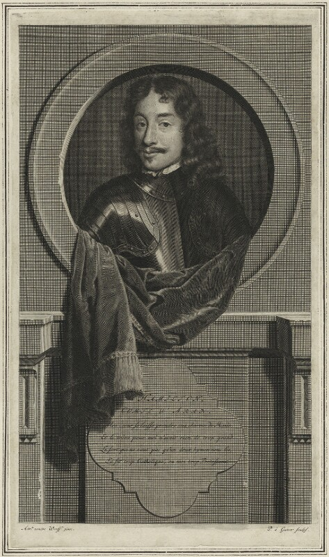 James Hamilton, 3rd Earl of Arran, by Pieter Stevens van Gunst, after  Adriaen van der Werff, 1707 - NPG D25176 - © National Portrait Gallery, London