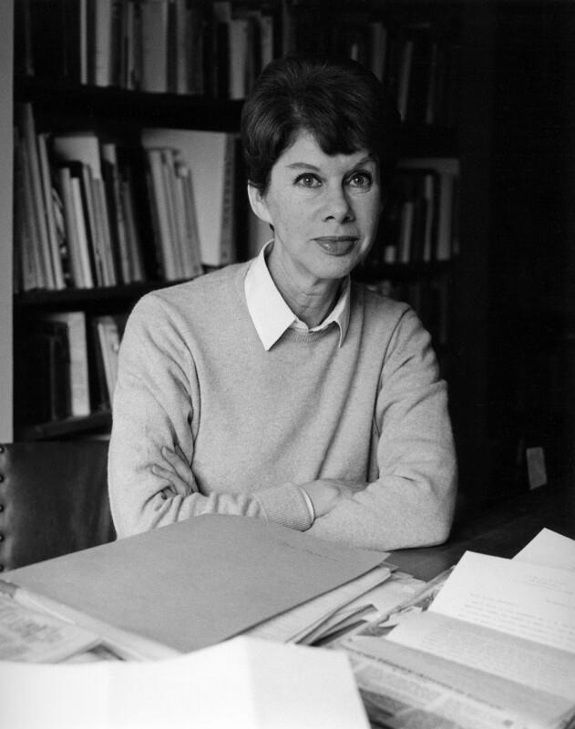 NPG x88195; Anita Brookner - Portrait - National Portrait Gallery