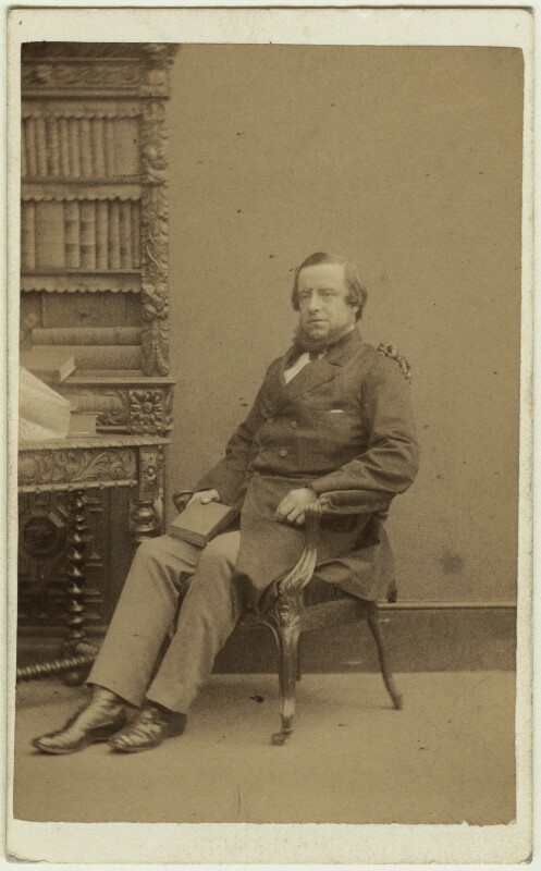 George Frederick Samuel Robinson, 1st Marquess of Ripon and 3rd Earl de Grey, by William Edward Kilburn, for and published by  Samuel E. Poulton, 1860s - NPG x22036 - © National Portrait Gallery, London