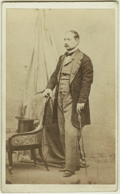 Manfredo Fanti, by Fratelli Alinari, early 1860s - NPG x74566 - © National Portrait Gallery, London