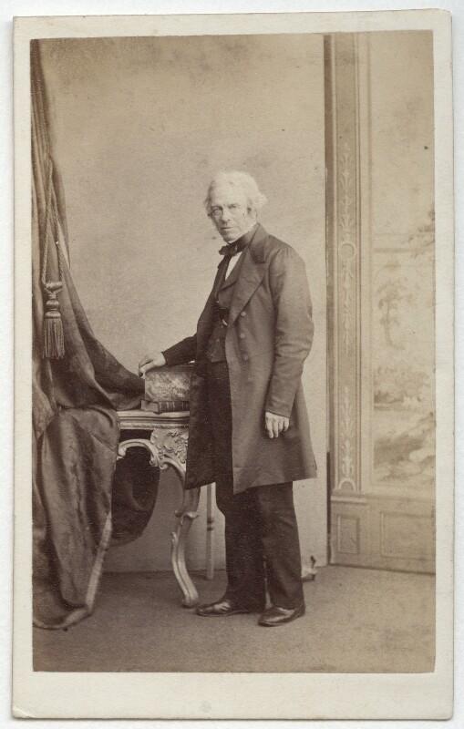 Michael Faraday, by James Valentine, 1863 - NPG x45093 - © National Portrait Gallery, London