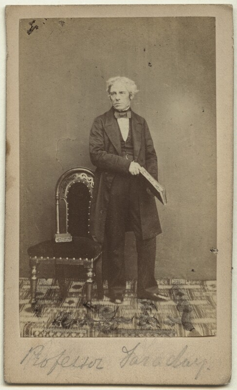 Michael Faraday, by (George) Herbert Watkins, 1850s - NPG x13927 - © National Portrait Gallery, London
