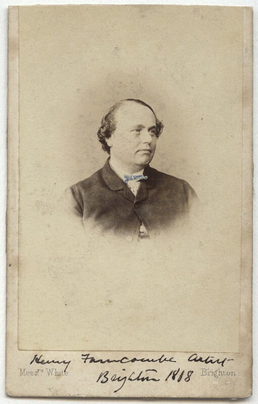 Henry Saunders Farncombe, by W. & A. White, circa 1868 - NPG x17096 - © National Portrait Gallery, London