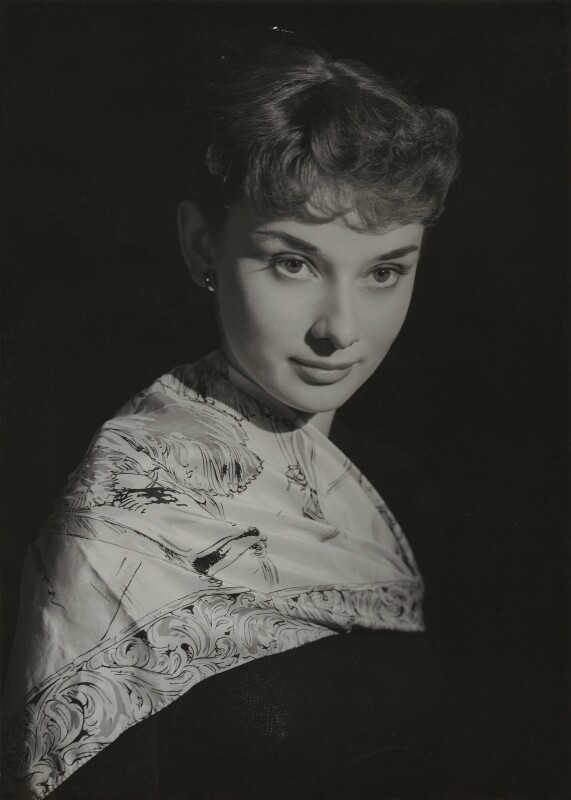 Audrey Hepburn, by Bassano Ltd, 1951 - NPG x85783 - © National Portrait Gallery, London