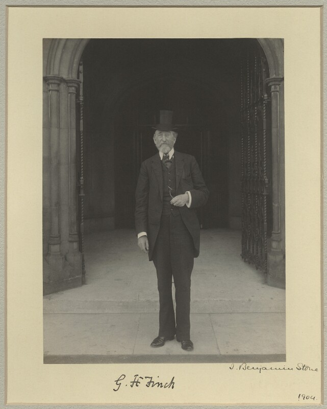 George Henry Finch, by Benjamin Stone, 1904 - NPG x15820 - © National Portrait Gallery, London