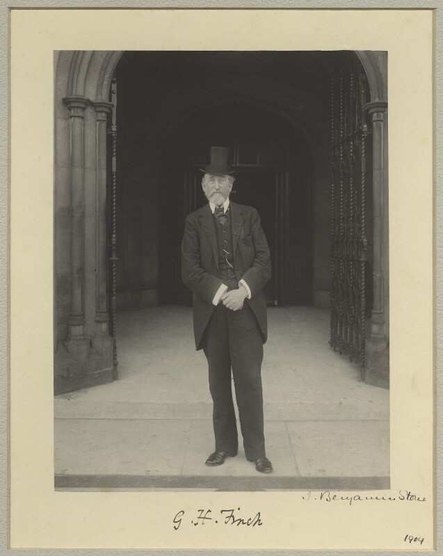 George Henry Finch, by Sir (John) Benjamin Stone, 1904 - NPG x15821 - © National Portrait Gallery, London