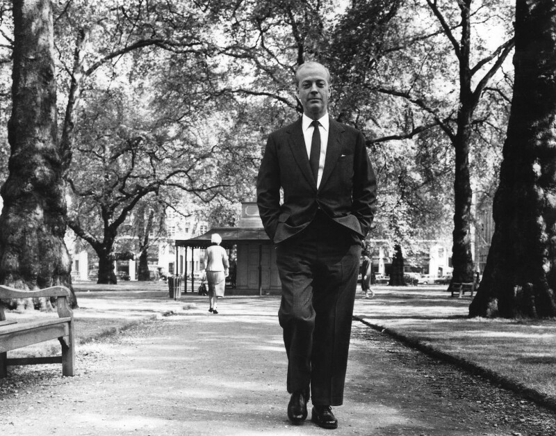 Eric Clifford Ambler, by Mark Gerson, June 1962 - NPG x88201 - © Mark Gerson / National Portrait Gallery, London