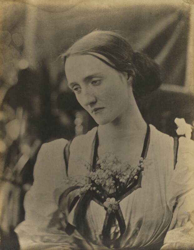 Mary Louisa Fisher (née Jackson), by Julia Margaret Cameron, 1866-1867 - NPG x18082 - © National Portrait Gallery, London