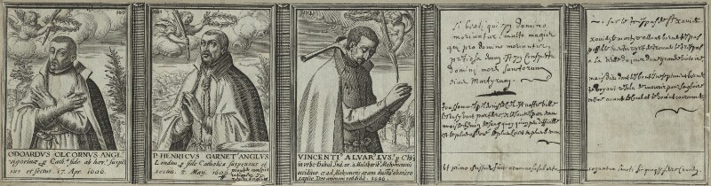 Renowned Jesuits, after Unknown artist, 1608 - NPG D25332 - © National Portrait Gallery, London