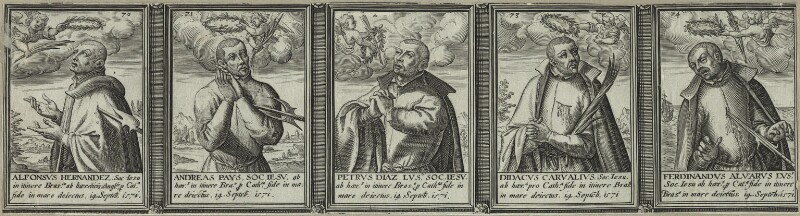 Renowned Jesuits, after Unknown artist, 1608 - NPG D25326 - © National Portrait Gallery, London