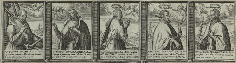 Renowned Jesuits, after Unknown artist, 1608 - NPG D25324 - © National Portrait Gallery, London