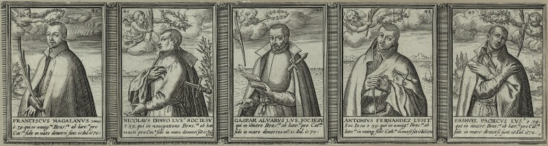 Renowned Jesuits, after Unknown artist, 1608 - NPG D25321 - © National Portrait Gallery, London