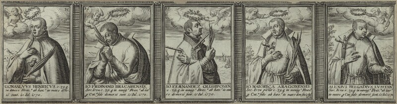 Renowned Jesuits, after Unknown artist, 1608 - NPG D25319 - © National Portrait Gallery, London