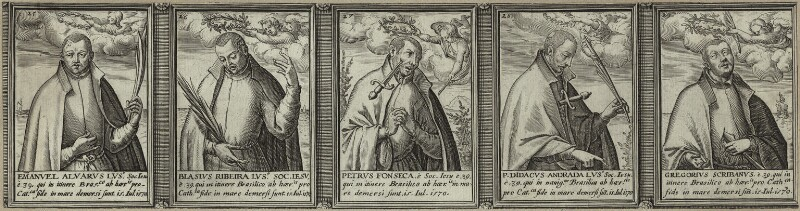 Renowned Jesuits, after Unknown artist, 1608 - NPG D25317 - © National Portrait Gallery, London