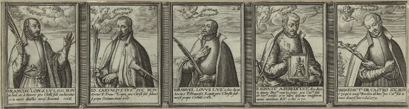 Renowned Jesuits, after Unknown artist, 1608 - NPG D25316 - © National Portrait Gallery, London