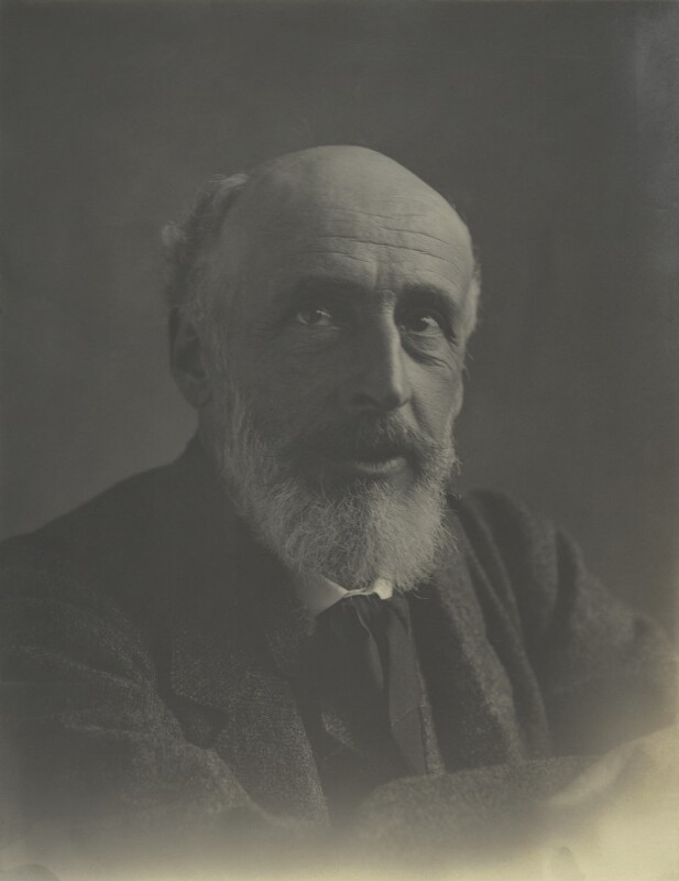 George James Howard, 9th Earl of Carlisle, by Eveleen Myers (née Tennant), 1890s - NPG Ax68636 - © National Portrait Gallery, London