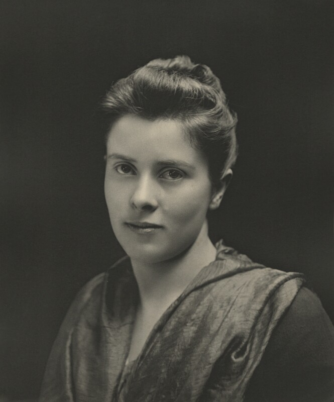 Mary Endicott Carnegie (née Endicott) (formerly Chamberlain), by Eveleen Myers (née Tennant), 1890s - NPG Ax36327 - © National Portrait Gallery, London