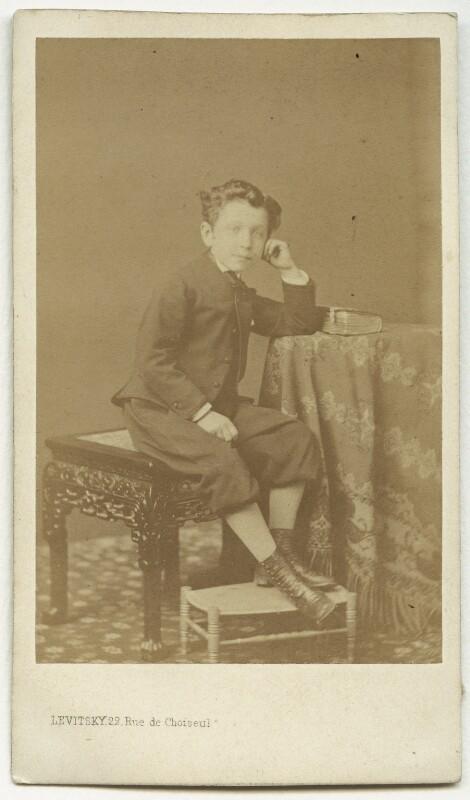 Napoléon, Prince Imperial, by Sergey Lvovich Levitsky, early 1860s - NPG x74321 - © National Portrait Gallery, London
