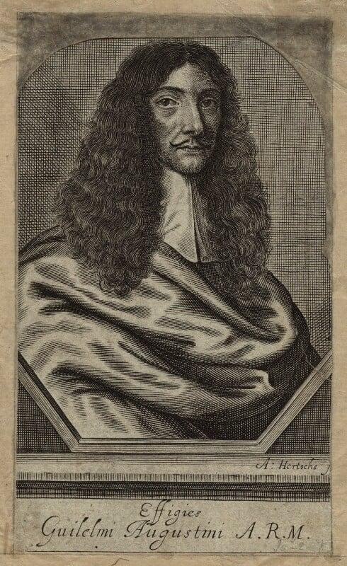 William Austin, by Abraham Hertochs (Hertocks), published 1666 - NPG D31869 - © National Portrait Gallery, London