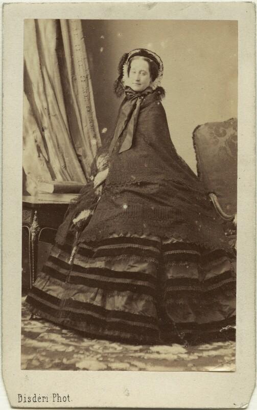Eugnie Empress Of France By Disdri Circa 1859